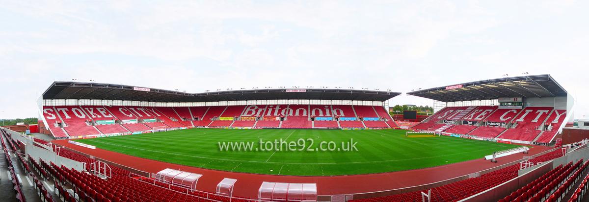 Football League Ground Guide - Stoke City FC - Bet365 Stadium