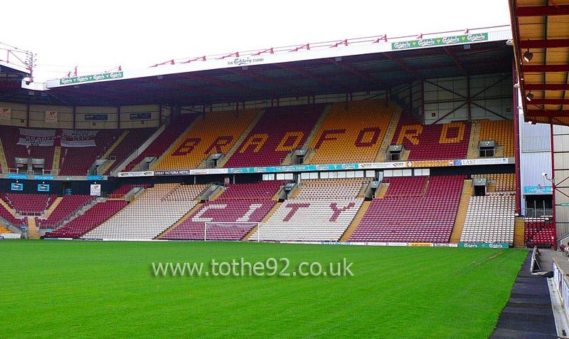 Bradford City AFC | Northern Commercials Stadium ...