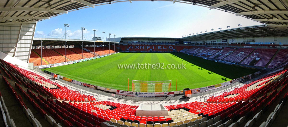 Football League Ground Guide Blackpool Fc Bloomfield Road