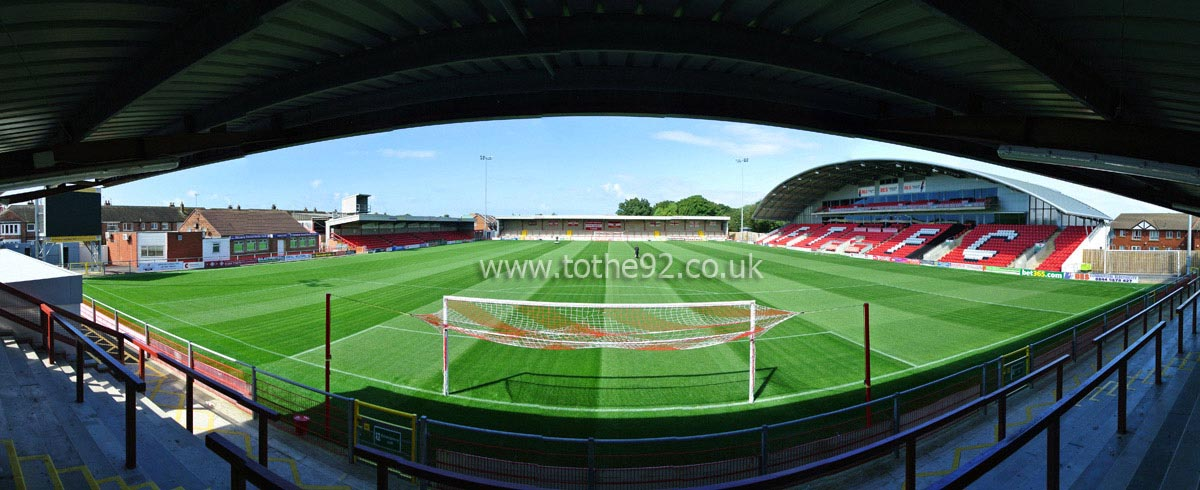 Football League Ground Guide - Fleetwood Town FC